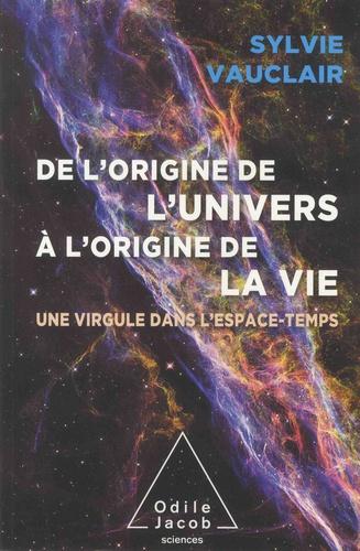 De l'origine de l'Univers à l'origine de la vie  : une virgule dans l'espace-temps
